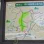 バス停から明石登城口①