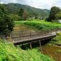 東橋、東堀と筑波山