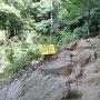 本丸への登山路の一部