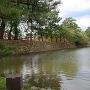 虎ノ門口西側石垣と水堀