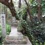 石碑(西条東城跡)