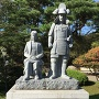 真田信之と小松姫像