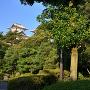 前田利家公の像と石川門