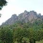 潜龍院と岩櫃山