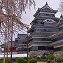 松本城天守(北側から)