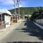 赤岩寺への参道