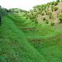 西の丸下の畝堀