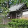 上田高校の上田藩主屋敷門