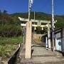 表米神社 登城口