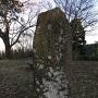 石碑「松根城址」