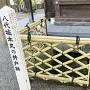 八代城本丸の井戸跡