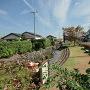 高須小学校東側の堀跡