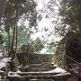 天主台の入り口