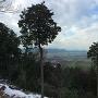 天主台で見る琵琶湖