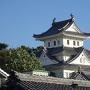 常葉神社から眺める天守