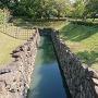 城内の用水路