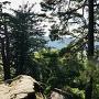 物見岩上からの眺望