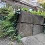 江戸城外堀跡溜池櫓台