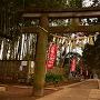 三芳野神社内から