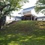 勝龍寺城 北東隅櫓を模した建造物