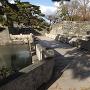 徳島城・下乗橋と大手門