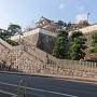 三の丸側からの登城口