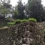 鐘撞堂跡石垣