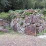 金石城搦門石垣