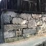 巌神社の土台