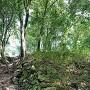 三の丸破城石垣