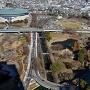 群馬県庁展望台から前橋城全景を望む