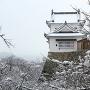 冬の備中櫓(横から)[提供:津山市観光協会]