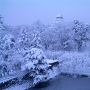 冬の鶴ヶ城[提供:会津若松市]
