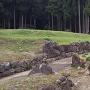 平面復元地区の石垣