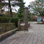芦城公園入り口