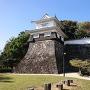 板敷櫓と石垣(扇の勾配)
