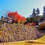 秋の西隅櫓