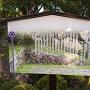 北門跡の石垣についての案内板