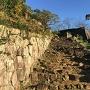 松の丸 石垣