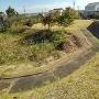 土累 空堀 そして二の丸跡