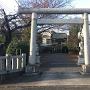 日月神社、正面入口