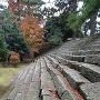 雁木(北側石垣の内側)