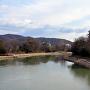 岡山城と旭川