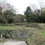 三ノ丸・西麓の石垣
