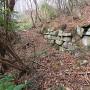 本丸下段南面石垣