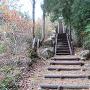 主郭への階段