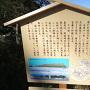 堀江城跡案内板
