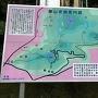 筆山史跡案内図