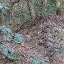 花尾城 櫓台石垣