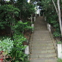 善慶寺から熊野神社への階段